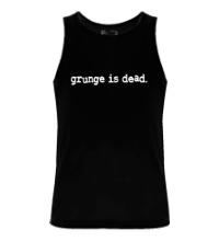 Мужская майка Grunge is dead