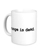 Керамическая кружка Grunge is dead