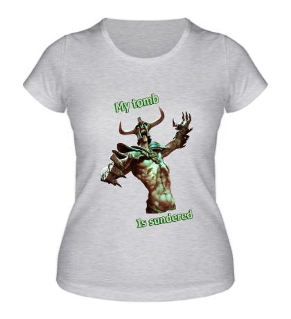 Женская футболка Undying: My Tomb
