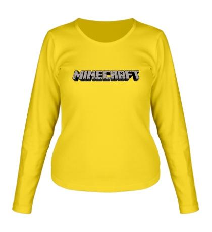 Женский лонгслив Minecraft