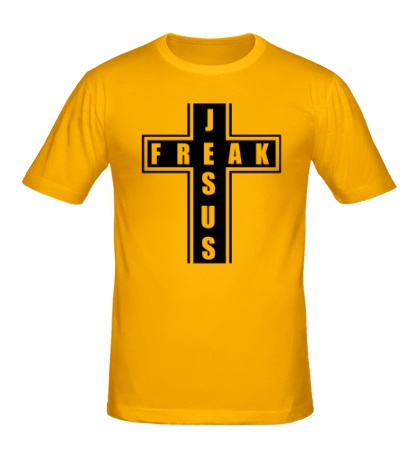 Мужская футболка Jesus freak