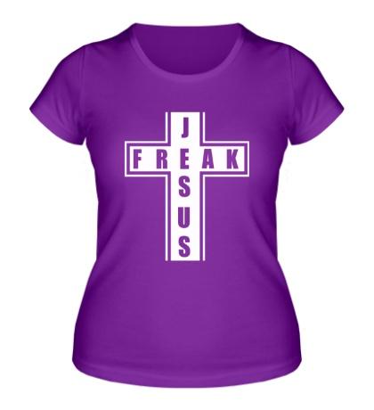 Женская футболка Jesus freak