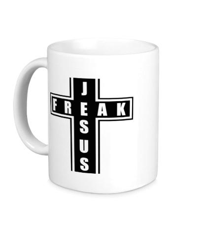 Керамическая кружка Jesus freak