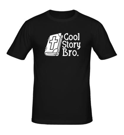 Мужская футболка Jesus: Cool story bro