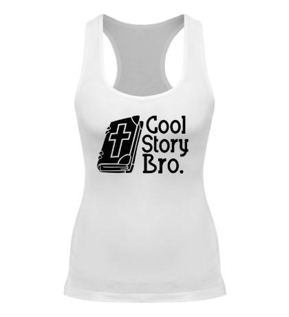 Женская борцовка Jesus: Cool story bro