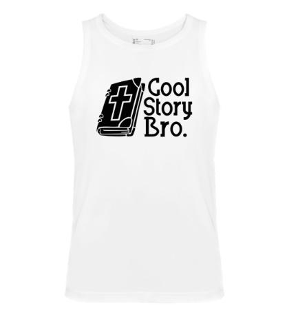 Мужская майка Jesus: Cool story bro