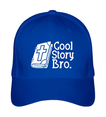 Бейсболка Jesus: Cool story bro