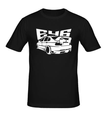 Мужская футболка BMW E46
