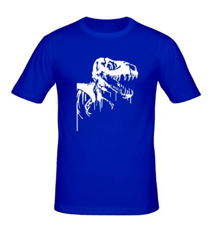 Мужская футболка Череп динозавра
