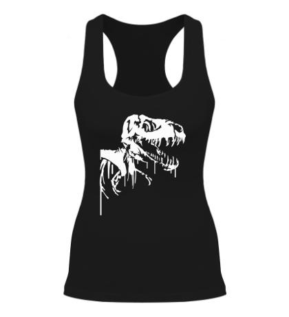 Женская борцовка Череп динозавра