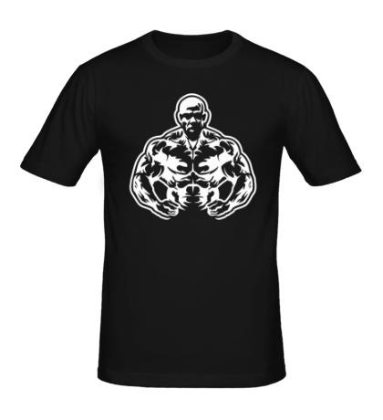Мужская футболка Атлет силач