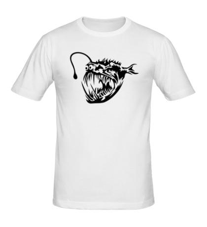 Мужская футболка «Зубастая пиранья»