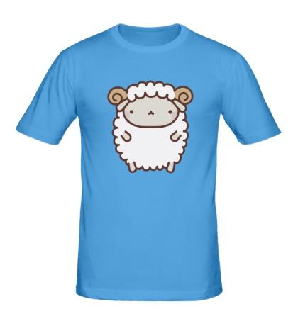 Мужская футболка Маленький барашек