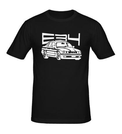 Мужская футболка BMW E34