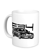 Керамическая кружка BMW E34
