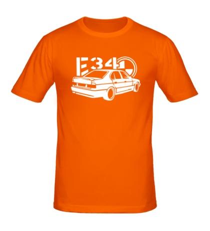 Мужская футболка BMW E34 Sports