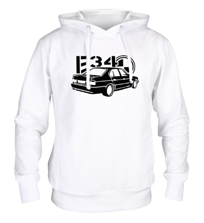 Толстовка с капюшоном BMW E34 Sports