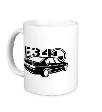 Керамическая кружка BMW E34 Sports