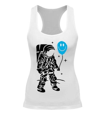 Женская борцовка Космонавт с шариком