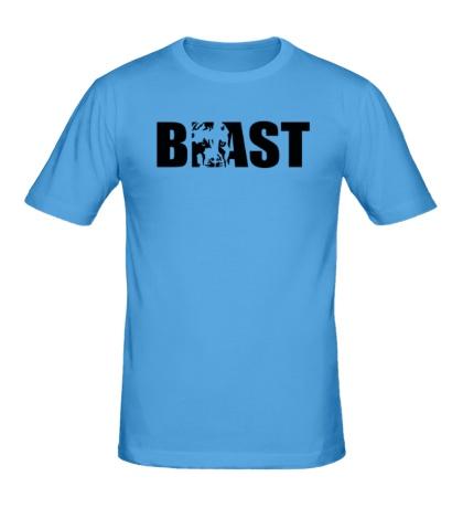Мужская футболка Beast
