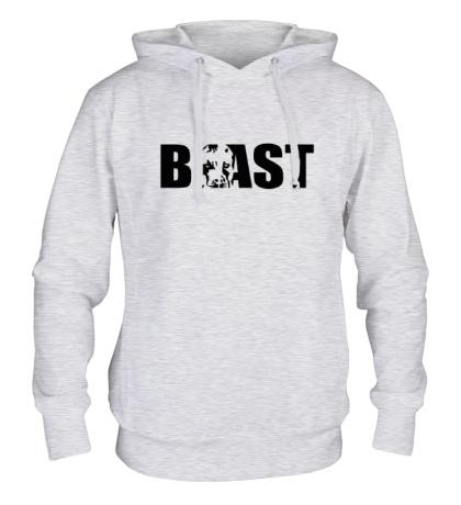 Толстовка с капюшоном Beast