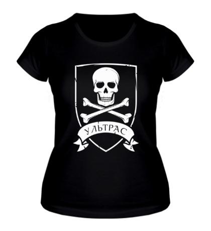 Женская футболка Ультрас