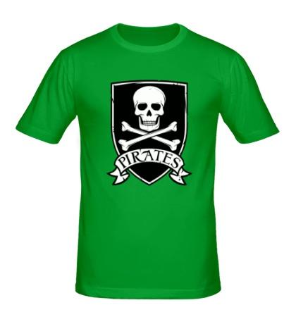 Мужская футболка «Pirates Skull»