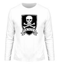 Мужской лонгслив Pirates Skull