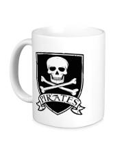 Керамическая кружка Pirates Skull