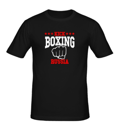 Мужская футболка Kickboxing Russia Team