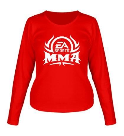 Женский лонгслив MMA EA Sports