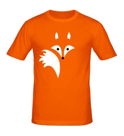 Мужская футболка Хитрая лисичка