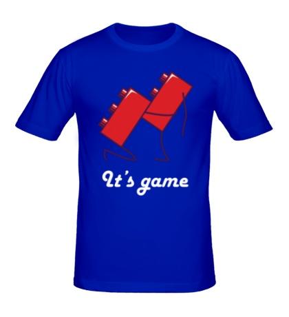 Мужская футболка Игра конструктора