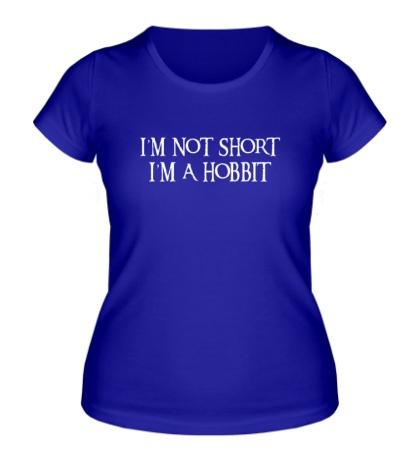 Женская футболка Я хоббит