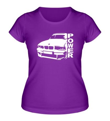Женская футболка BMW Power