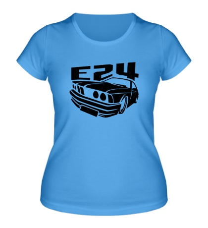Женская футболка BMW E24