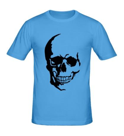 Мужская футболка Улыбчивый череп