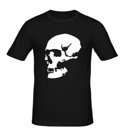 Мужская футболка Человеческий череп
