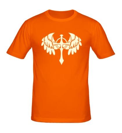 Мужская футболка Крест с крыльями