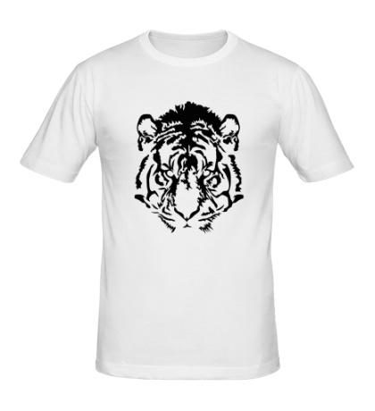 Мужская футболка Eyes of the tiger