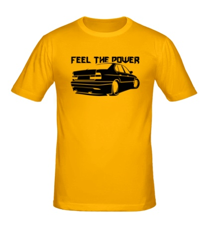 Мужская футболка Feel the power Почувствуй мощь
