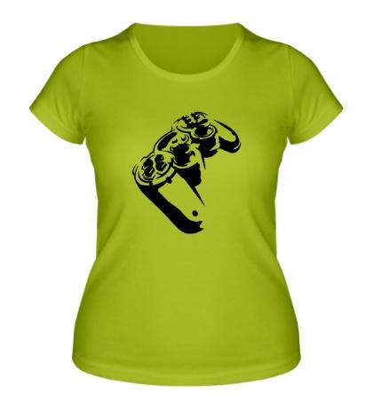 Женская футболка Джойстик