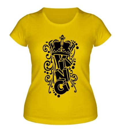 Женская футболка First King