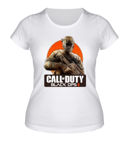 Женская футболка CoD: Black Ops 2