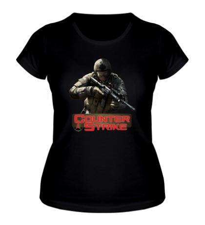 Женская футболка Counter-Strike Logo