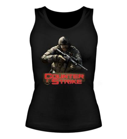 Женская майка Counter-Strike Logo