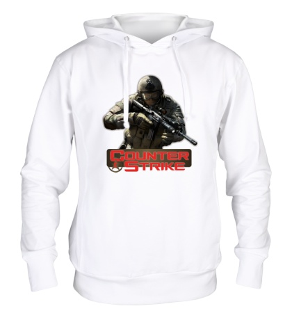 Толстовка с капюшоном Counter-Strike Logo