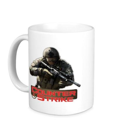 Керамическая кружка Counter-Strike Logo