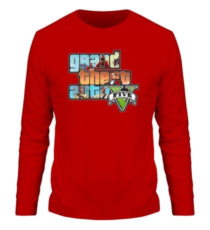 Мужской лонгслив GTA 5: City Stories