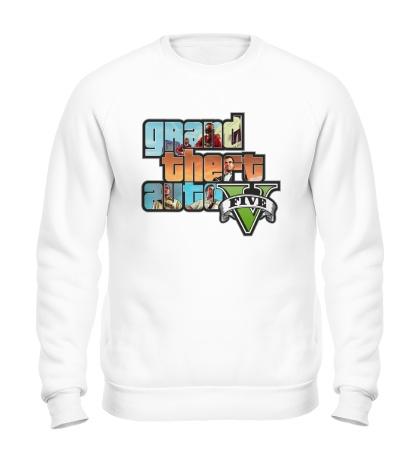 Свитшот GTA 5: City Stories